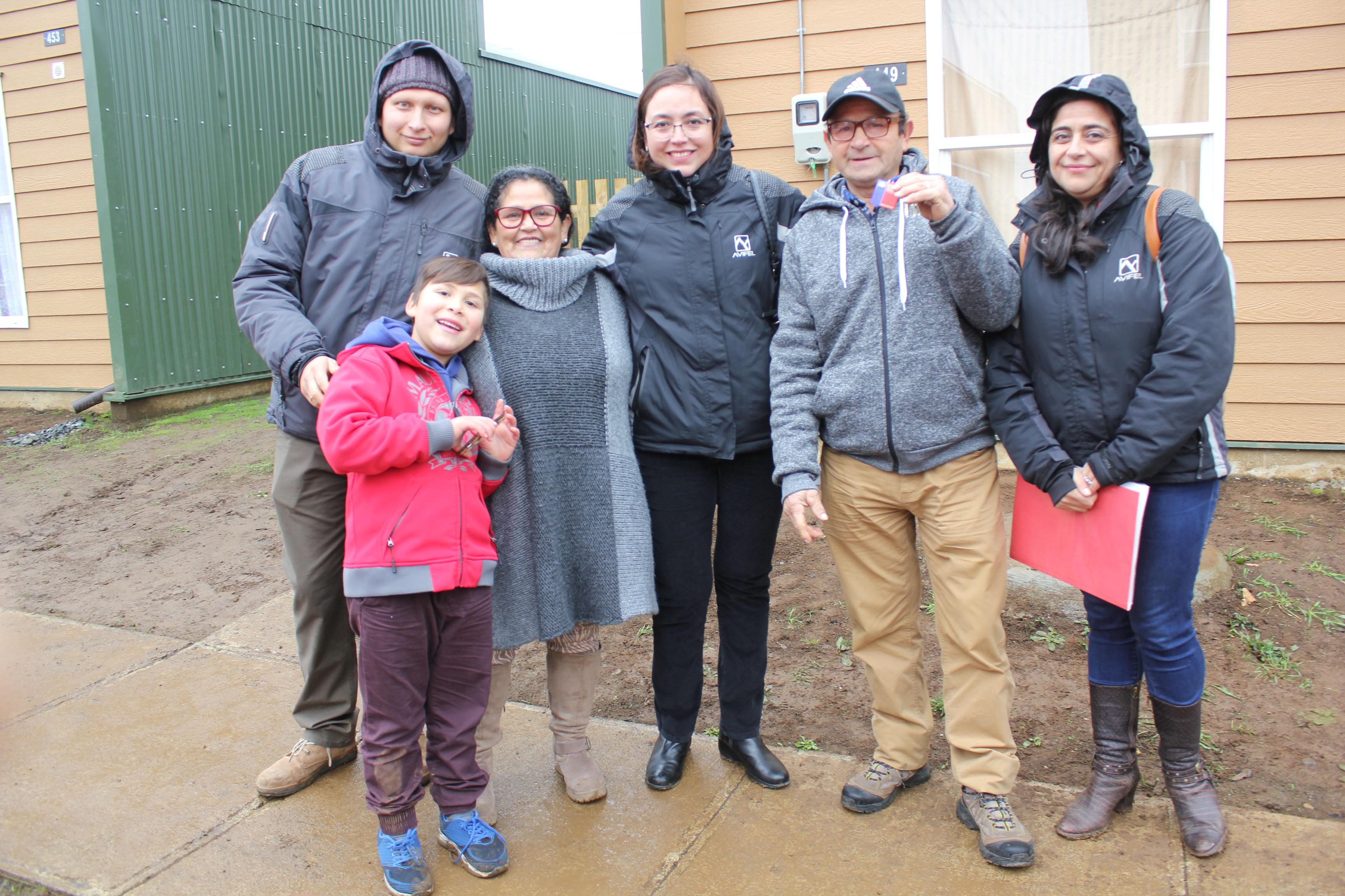 132 familias reciben sus casas en La Unión