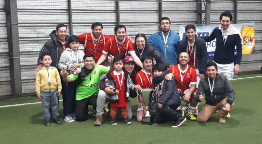 Equipo de Fútbol de Avifel participa en Campeonato Fútbol Maestro