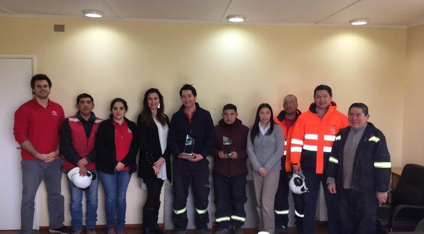Avifel recibe reconocimiento de la ACHS por campaña de seguridad laboral