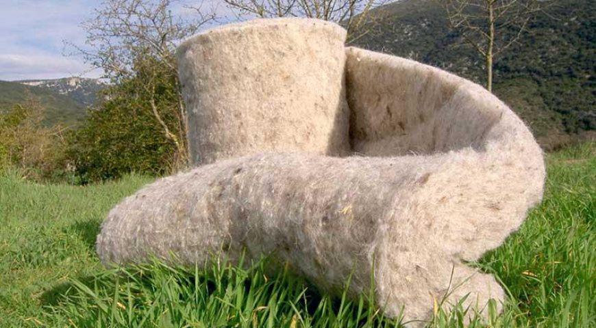 Avifel utiliza innovador y sustentable material aislante en Chiloé