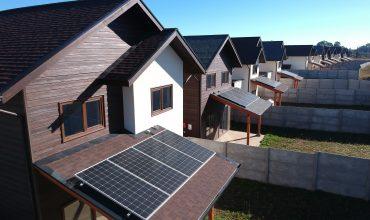 Paneles solares comienzan su funcionamiento en Portal Los Alpes